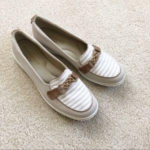 GRASSHOPPERS Ortholite Nautical Slip on Loafers
